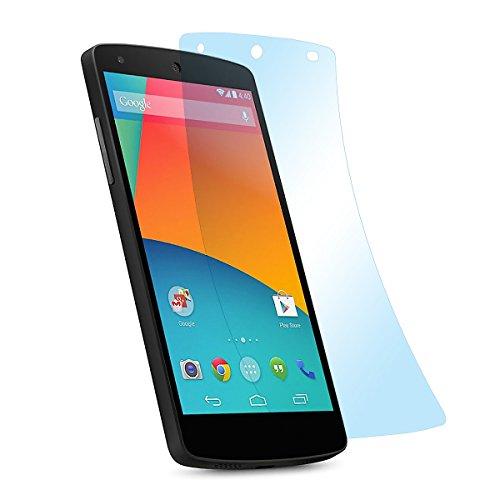 doupi Ultrathin Schutzfolie für LG Google Nexus 5 (4,9 Zoll), matt entspielgelt optimiert Bildschirm Schutz (9X Folie in Packung)