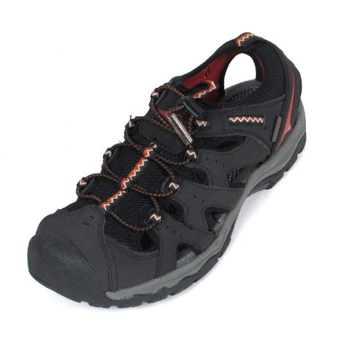 Eddie Bauer Mens Carl Hiking Sandal Shoes 12 Black