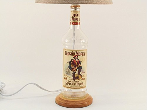 CAPTAIN MORGAN Spiced Rum Bottle Lamp