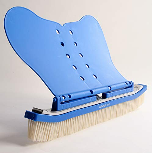 """The Wall Whale Classic WW18Res Wall Whale 18"""" Swimming Pool Brush, Blue"""