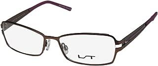 Lightec By Morel 6863l Mens/Womens Designer Full-rim Flexible Hinges Stainless Steel Eyeglasses/Glasses