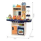 NO BRAND Juego de Juego de Cocina Cocina for niños Conjunto de Juguete 3-6 años niña de simulación de Cocina casa del Juego Cooking Cooking Juguetes educativos Padres y Juego de niños