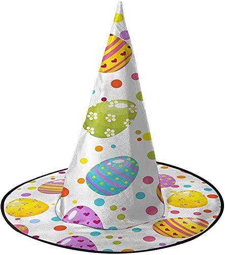 KEROTA Confeti Huevo de Pascua Halloween Decorar Sombrero Mgico Sombrero de Bruja para Fiesta Masquerade Cosplay Accesorio de Disfraz
