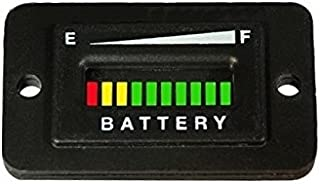Automotive Authority LLC 48 Volt EZGO Club Car Yamaha Golf Cart Battery Indicator Meter Gauge Rectangle