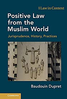 Positive Law from the Muslim World: Jurisprudence, History, Practices (Law in Context) (English Edition) par [Baudouin Dupret]