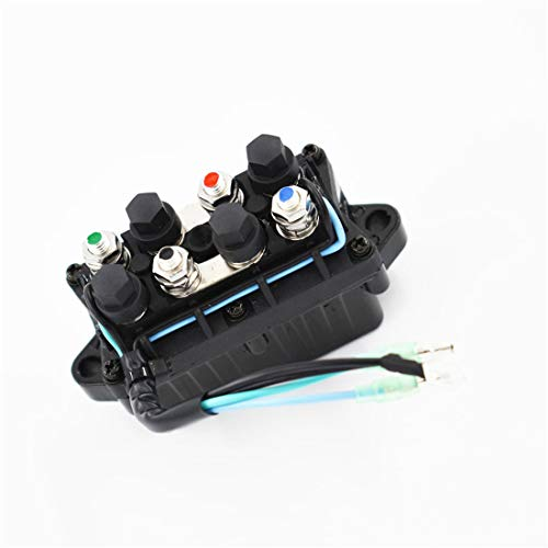 WFLNHB Boat Power Trim Relay fit for 40hp 85hp 90hp Yamaha Outboard Engine 6h1-81950-00 6h1-81950-01