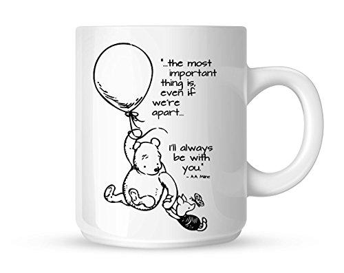 N\A Tazza Winnie The Pooh Love Quotes Mug Bianca di Mug