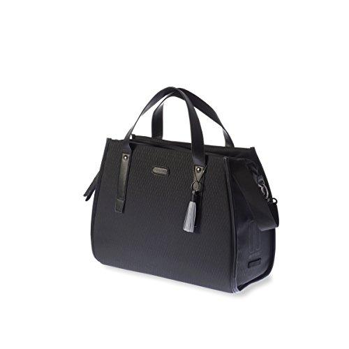 Basil Unisex– Erwachsene Noir Business Fahrradtasche, Black, 41 cm x 17 cm x 32 cm