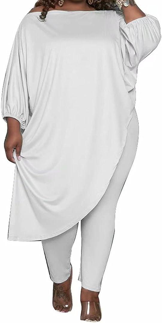 Women's Fashionable Causal Plus Nashville-Davidson Mall Size 2 Jumpsuits Slant Shoulde Piece Outfits