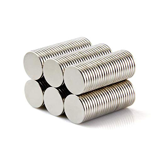 Elsatsang 50pcs Disc Rare Earth Neodymium Super strong Magnet N35 Craft Models 10mm x 1mm