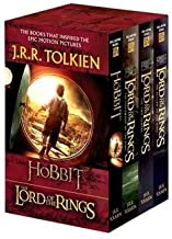 J. R. R. Tolkien: J.R.R. Tolkien 4-Book Boxed Set : The Hobbit and the Lord of the Rings (Movie Tie-In): The Hobbit, the Fellowship of the Ring, the Two Towers, the Retu (Paperback); 2012 Edition