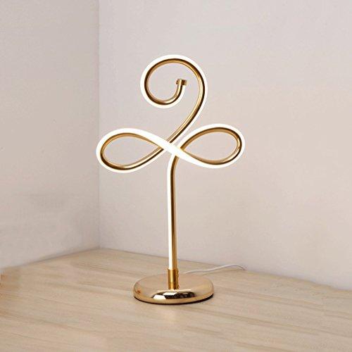 Práctico Y Simple Lámpara de Mesa Lámpara de Escritorio Luz Estilo Del Sudeste Asiático Arte de Aluminio Práctico Y Simple Lámpara de Mesa, Personalidad Creativa Led Lámpara de Mesa Práctica Y Simple