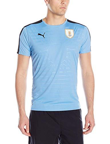PUMA Camiseta Réplica Hombre Uruguay Home - 74903501, Camiseta réplica oficial 2016-2017., M, Home
