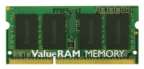 Kingston Memoria RAM, 1333 MHz, DDR3, Non-ECC CL9 SODIMM, 204-pin, 1.5 V, 2 GB