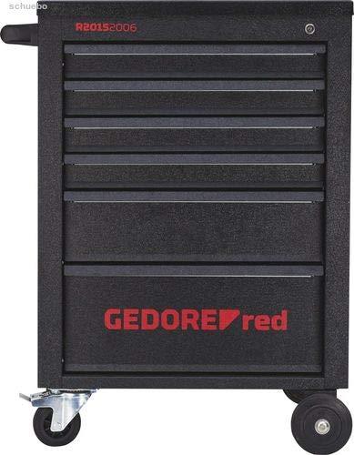 Gedore Red Werkzeugwagen MECHANIC, schwarz (matt), leer