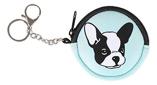 Münzbörse Kinder - Geldbörse für Mädchen - Geldbeutel, Mini Portemonnaie, Kleingeld Münzbeutel (Doggie)