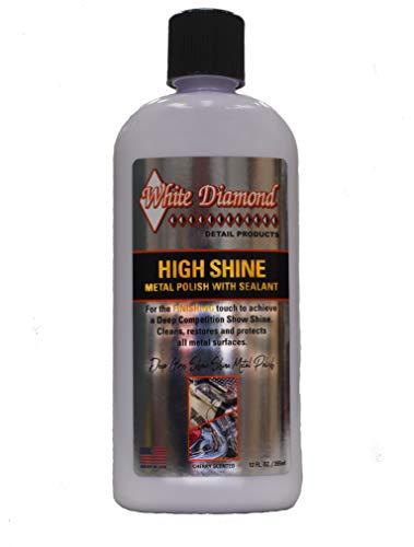 White Diamond Detail Products Hochglanz-Metallpolitur
