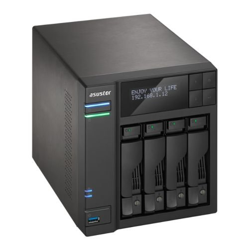 Asustor AS-6204T 0/4HDD NAS, Nero