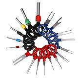 Hootracker 18pcs Juegos de herramientas Terminal Removal Tool Kit for Car Wire Connector Pin Release Extractor Tools Set for Most Connector Terminal