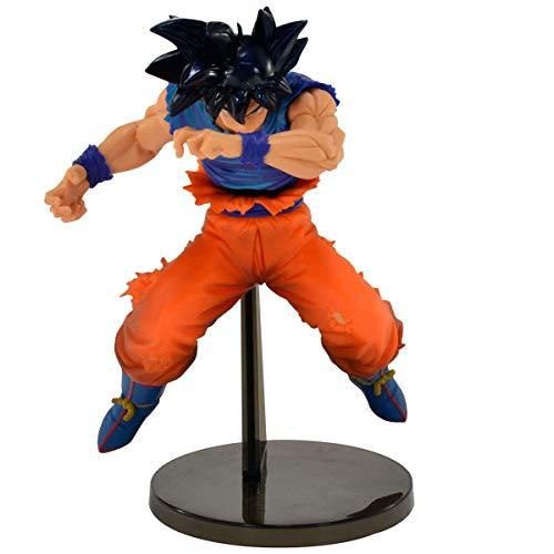 Figure Bandai Banpresto Dragon Ball Super Blood Of Saiyans Special Ii - Son Goku Ultra Instinct Sign Ref. 34628/34629 Multicor