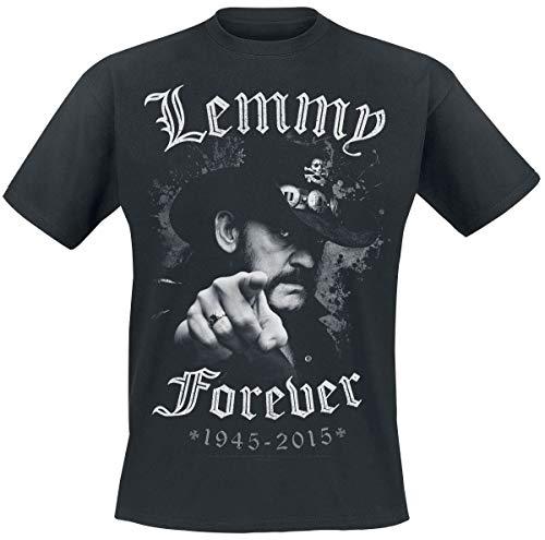 Motörhead Lemmy - Forever Männer T-Shirt schwarz L 100% Baumwolle Band-Merch, Bands