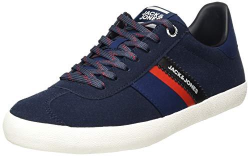 JACK & JONES Herren Jfwwalcot Synth SuederSneaker, Blau (Navy Blazer), 40 EU
