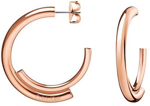 Calvin Klein Pendientes de aro Mujer acero inoxidable - KJ5GPE100100