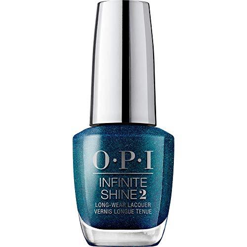 OPI Infinite Shine 2 Long-Wear Lacquer, Nessie Plays Hide & Sea-k, Blue Long-Lasting Nail Polish, Scotland Collection, 0.5 fl oz