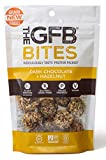 The GFB Protein Bites, Dark Chocolate Hazelnut, 4 Ounce (Pack of 6), Gluten Free, Non GMO (Packaging May Vary)