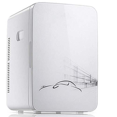 10L DualUse Car Refrigerator, Mini Fridge Dormitory Medicine Cosmetics Heating And Cooling Box, 220V/12V, Compact…
