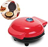 ASYCHEN Mini eléctrico Waffles Fabricante de Burbuja Huevo Pastel Horno Desayuno Waffle máquina Huevo Pastel Horno Pan Eggette automático Mini Galleta Pot