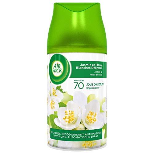 Air Wick Desodorisant Recharge Freshmatic Max Jasmin et Fleurs Blanches 250 ml