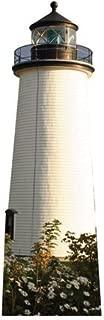 Wet Paint Printing + Design H20213 Newbury Port Lighthouse Cardboard Cutout Standup