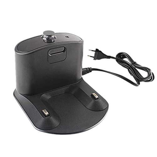 Accesorios de aspiradora Adaptador de cargador de muelle Ajuste para irobot Fit para Roomba 500 600 660 690 700 800 900 880 890 960 980 Robot de la serie Accesorios de aspiradora ( Color : EU Plug )
