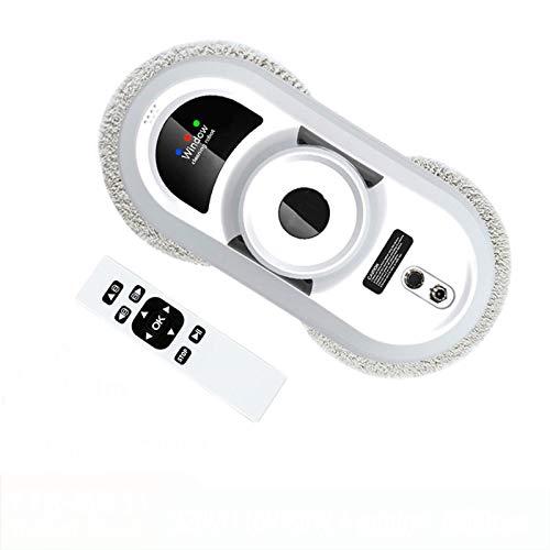 WQY Robot Lavavetri, Robot Lavavetri Incorniciato Robot Pulitore Magnetico Telecomando Robot Pulitore Vetri Automatico per Finestre per Interni Ed Esterni