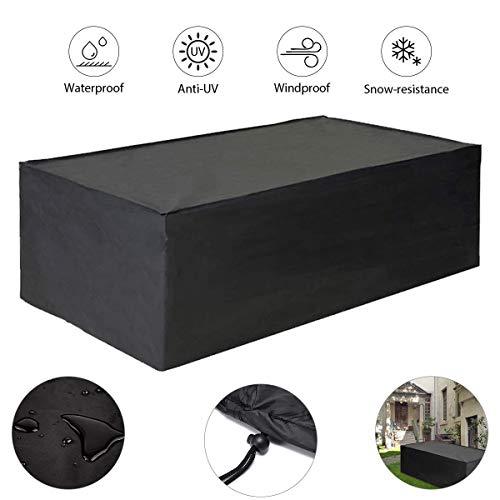 Lona resistente al agua resistente Impermeable y transpirable Oxford Tela al aire libre Tabla al aire libre cubierta Mesa Y Sillas Para (Size : L*W*H:60x60x60cm)