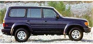 1997 Toyota Land Cruiser, 4-Door 4-Wheel Drive, Super White