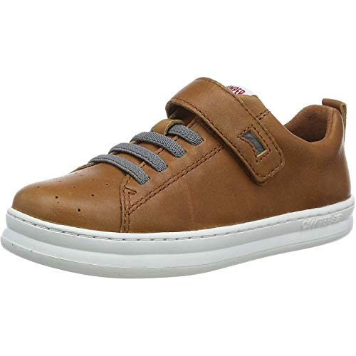 CAMPER Jungen Runner Four Kids Sneaker, Braun (Medium Brown 210), 28 EU