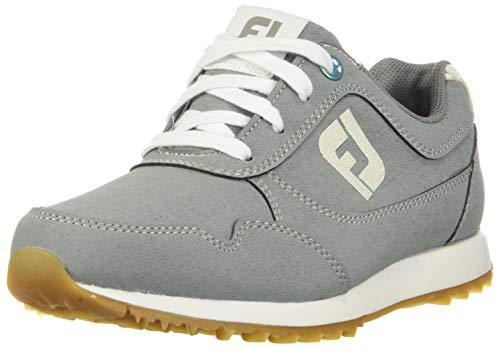 FootJoy Women's Sport Retro Golf Shoes Grey 9.5 M US