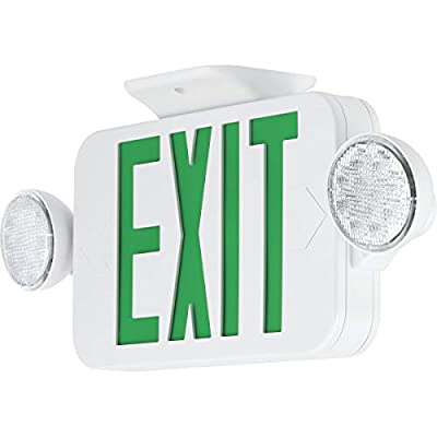Progress Commercial PECUE-UG-30 LED Exit Sign Combo