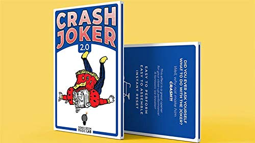 SOLOMAGIA Crash Joker 2.0 (Gimmicks and Online Instructions) by Sonny Boom - Tricks with Cards - Trucos Magia y la Magia