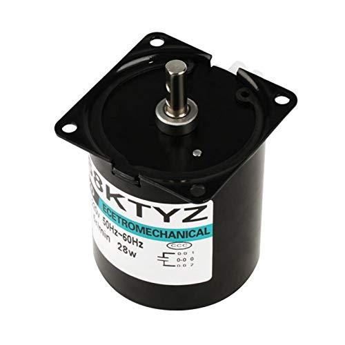 AC220V, motoréducteur miniature à moteur synchrone pour l'automatisation de la production pour les armoires de télévision cachées pour les jouets électriques(80 tours)