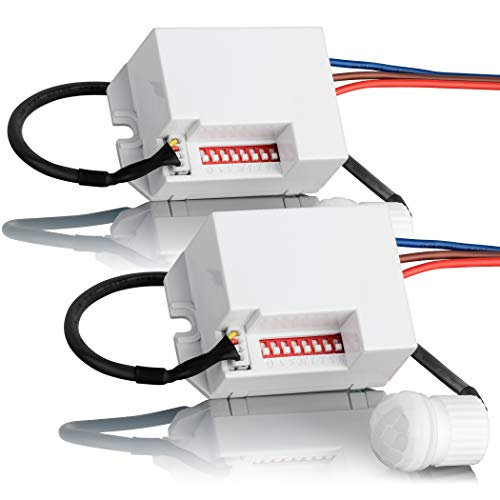 SEBSON® 2X Mini Detector de Movimiento...
