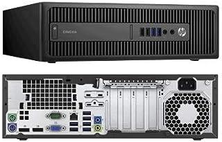 HP EliteDesk 800 G2 Quad Core i5 6500 8 Gb 128Gb SSD 320GB HDD W10P Desktop PC (Renewed)