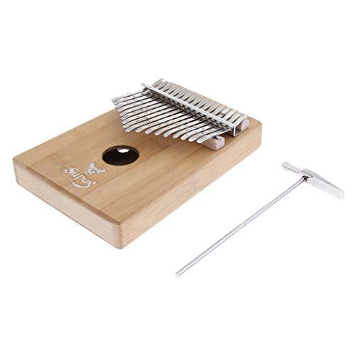#N/A Afrikanisches Musikinstrument 17 Tasten Kalimba Thumb Piano Hammer for