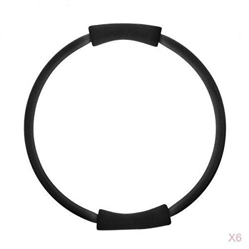 MagiDeal 6 x Pilates Magica Cerchio Anello Circle Ring Completo Corpo Tonificante Esercizio Yoga Fitness Anello