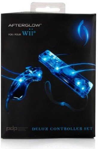 PDP PL7605 Nintendo Wii(R) Afterglow(R) Combo Pack (Remote & Nunhuck)