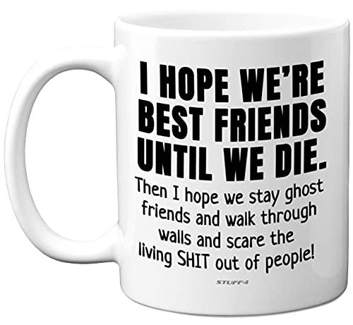 Best Friend Mug Gifts, Friends Mug - 11oz Dishwasher Safe Mugs - Funny Best Friend Birthday Gifts, Bestie Gifts, Gifts for Friend, Friendship Mug, Gifts for a Best Friend- Stuff4