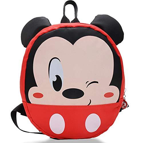 Mochila Infantil Mickey - WENTS Mochilas Escolares Material Escolar para Niñas Mochila Infantil con Mickey Mouse Minnie Mous Gran Capacidad Regalos para Niños