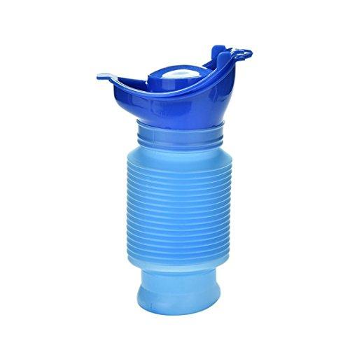 Accesorios de Viaje CCI 750 mm Recorrido al Aire Libre portátil Coche Resuable escalable Viaje urinarios Botella Aseo Pee (Azul) Bolsa de almacenaje del Recorrido (Color : Blue)